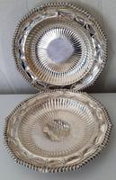 Pair of Paul Storr Antique Georgian Silver Dishes 1811 (2 of 12)