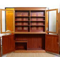 Oak Pine School Cabinet 19th Century (6 of 12)