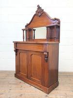 Victorian Mahogany Chiffonier with Mirror Back (9 of 10)