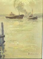 Oil of Tugs in Port (4 of 4)