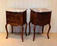 Pair Of French Walnut Bedside Cabinets (8 of 10)
