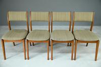 Set of 4 Retro Teak Dining Chairs (5 of 8)