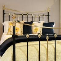 Decorative Antique Bed in Black (3 of 7)