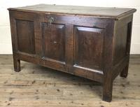 Antique 18th Century Oak Coffer (16 of 16)