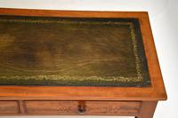 Antique Victorian  Mahogany  Leather   Top Writing Table / Desk (4 of 10)