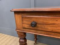 Victorian Mahogany Side Table (11 of 15)