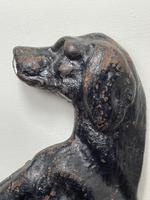 19th Century Country House Seated Hound Dog Cast Iron Door Stop (11 of 37)