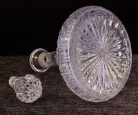 Pair of Cut Glass Ships Decanters (6 of 6)