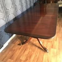 Mahogany Dining Table & Set of 10 Regency Style Chairs (16 of 19)