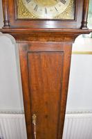 Small (77.5in) 8 Day Mahogany Grandfather Longcase Clock (5 of 7)