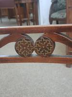 Pair of Brass Inlaid Chairs (6 of 9)