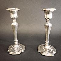 Edwardian Silver Candlesticks (4 of 6)