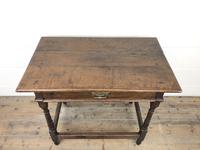 Early 18th Century Joined Oak Side Table (3 of 8)