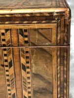Fine Antique Mid Victorian 19th Century Tunbridge Sewing Workbox Parquetry Inlaid (3 of 12)