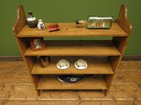 Antique Pine Display Shelves, small open kitchen shelves (10 of 13)