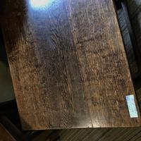 Oak Square Coffee Table (8 of 8)
