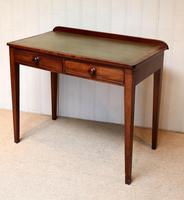 Late 19th Century Mahogany Writing Desk c 1890 (9 of 10)