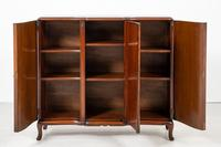 Stunning Burr Walnut 3 Door Side Cabinet (7 of 9)