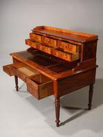 Beautifully Figured Mid 19th Century Mahogany Writing Desk (5 of 6)