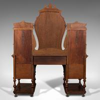 Fine Antique Dressing Table, English, Walnut - Gillow & Co, Victorian (5 of 12)