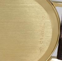 Vintage Tiffany & Co 14ct Solid Gold 31mm Slim Thin Men's / Ladies Quartz Watch with box (13 of 15)