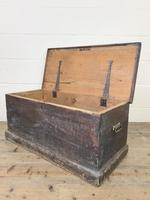Rustic Antique Wooden Trunk (4 of 8)