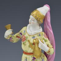 Pair of Samson Porcelain Figures of Ottomans / Turks after Meissen (9 of 13)