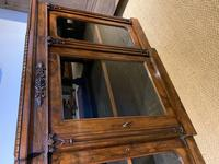 Rosewood Breakfront Bookcase (13 of 15)