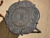 Late 19th Century Indian Lamp Table (6 of 8)