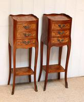 Pair of Tulipwood Bedside Cabinets (4 of 10)