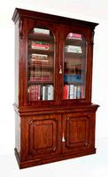 A fine quality 19th century mahogany library bookcase