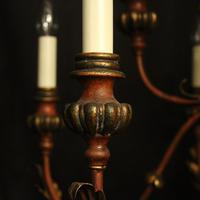 Florentine 12 Light Polychrome & Toleware Chandelier (4 of 10)