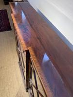 Edwardian Breakfront Bookcase (11 of 13)