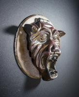 Expressive 17th Century Bronze Doorplate (3 of 4)