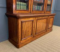 Fine Quality Figured Mahogany Library Bookcase (11 of 17)