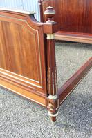 French Mahogany Bedstead (4 of 9)