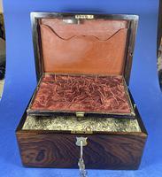 Victorian Rosewood Jewellery Box (6 of 17)