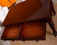 Writing Desk Mahogany Victorian (5 of 8)
