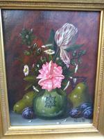M Pincon Flowers, Fruit & Vase Still Life (2 of 7)