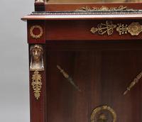 19th Century Mahogany Mirrored Consul Table (10 of 12)