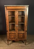 Elegant Napoleon lll Period Rosewood  & Tulipwood Bookcase / Vitrine (7 of 13)