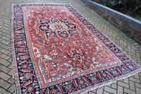 Antique Heriz Carpet 366x228cm (6 of 10)