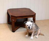 Low Walnut Art Deco Table (6 of 12)