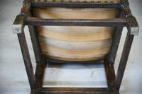 Oak & Leather Carver Chair (2 of 12)
