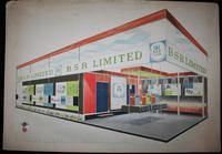 BSR Exhibition Stand Drawings - 1963 (3 of 12)