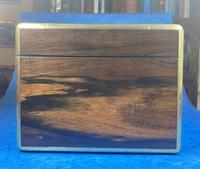 Georgian  Rosewood Brassbound Vanity Box (6 of 34)