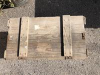Vintage Wooden Crate Box with Red Cross Logo (5 of 10)