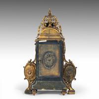 Unusual French Gilt Bronze Mantel Clock (4 of 6)