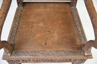 Anglo Indian Carved Padouk Chair (8 of 12)