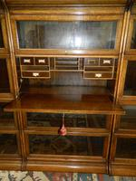 Suite of Oak Stacking Bookcases (4 of 7)